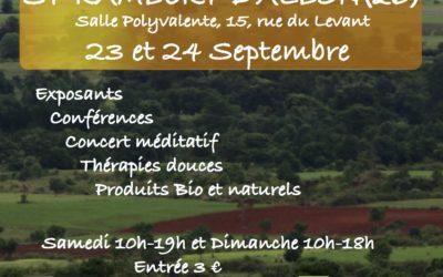 Salon des z'arts zen du 23 au 24 septembre 2017 à Saint Rambert d'Albon (26)