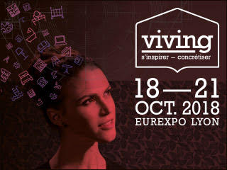 Salon Viving à Eurexpo du 18 au 21 octobre 2018.