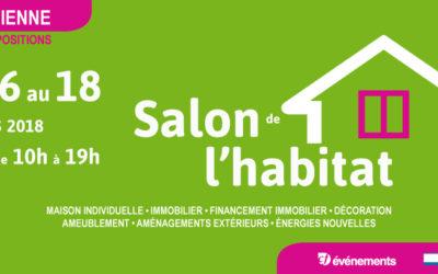 Salon de l'habitat de Saint-Etienne (42) du 16 au 18 mars 2018