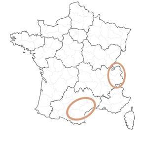 Déplacements en régions Languedoc-Roussillon et Savoie