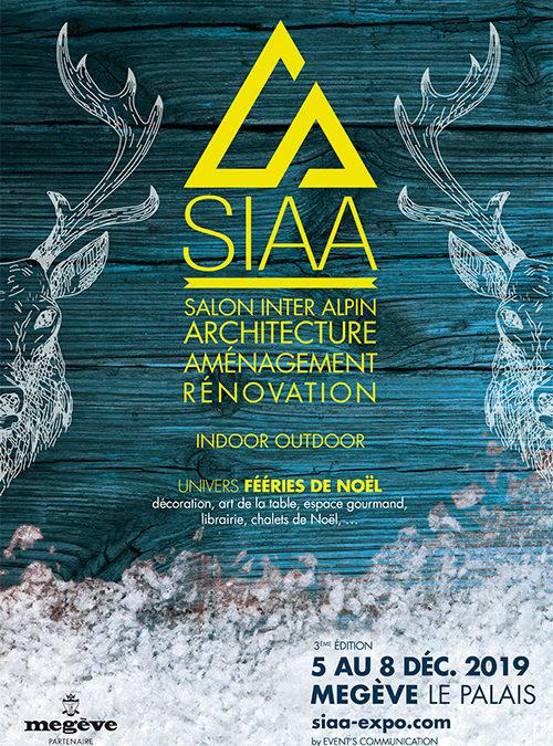Salon SIAA à Mégève du 5 au 8 décembre 2019